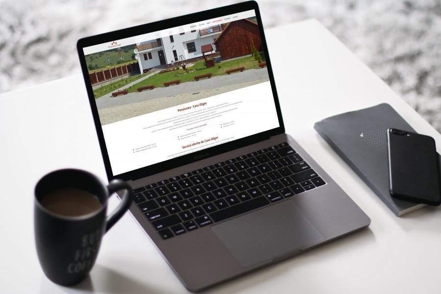 Website Pensiunea Casa Gligor Sibiu