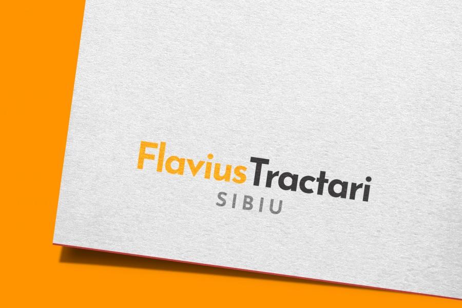 flavius tractari logo design sibiu