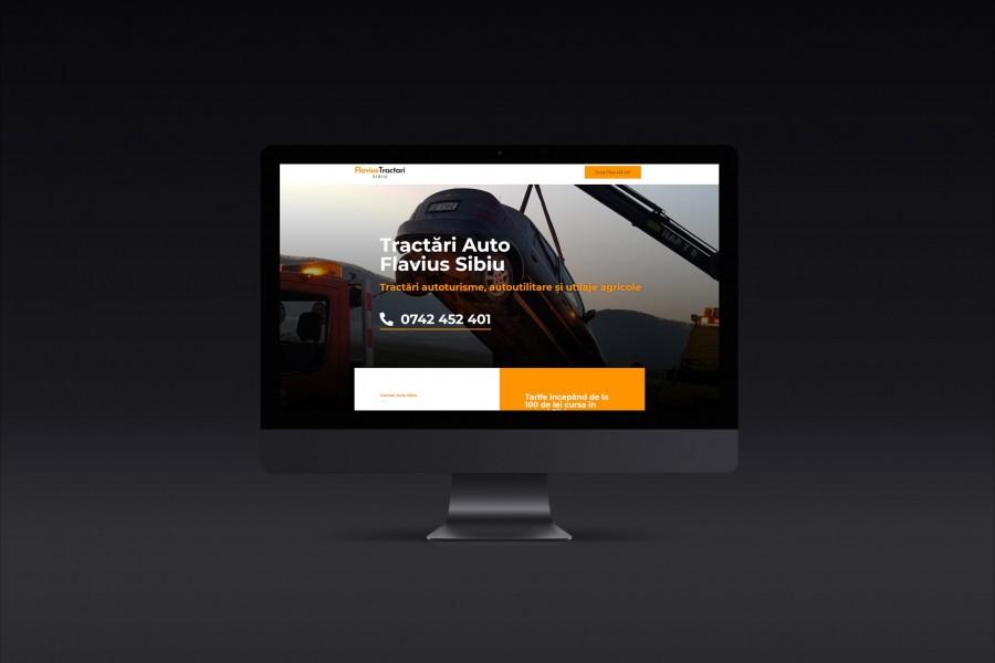 website design sibiu - flavius tractari - site web sibiu