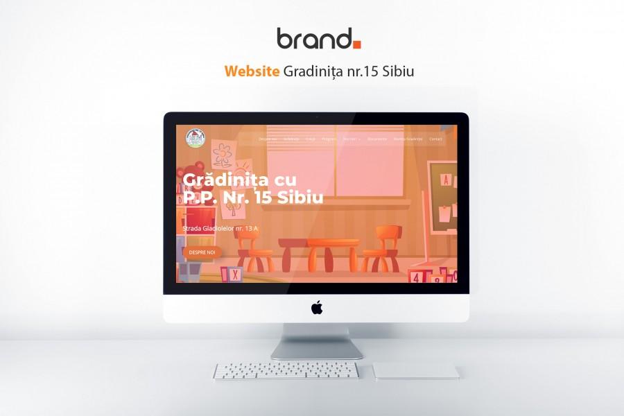 website design sibiu website gradinita